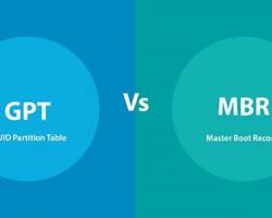 تفاوت MBR و GPT  در چیست؟