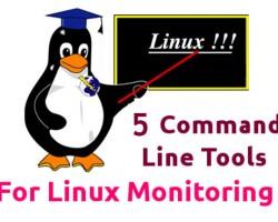 ۵ ابزار برتر خط فرمانی برای مانیتور منابع لینوکس