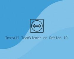 چگونه TeamViewer را روی Debian 10 نصب کنیم؟