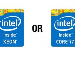تفاوت پردازنده های سری i و سری Xeon