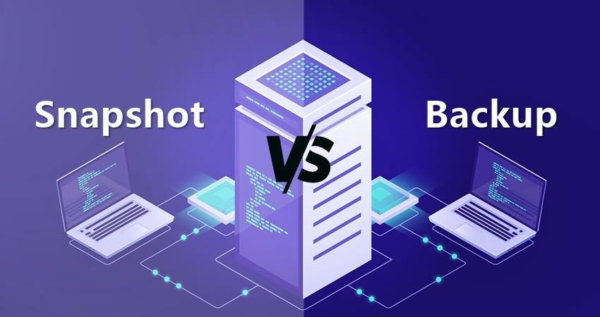 Snapshot و Backup چه تفاوتی دارند؟